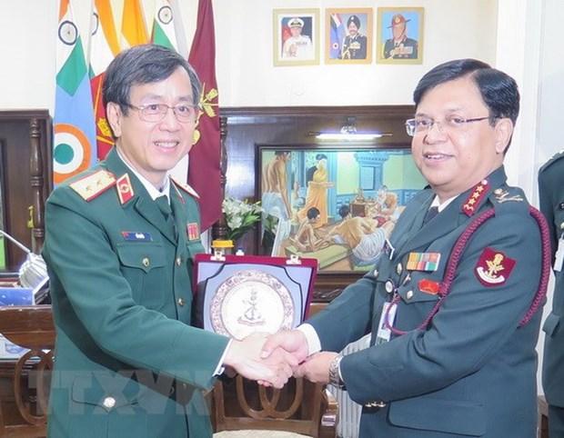 越南与印度促进军队医院医疗合作 hinh anh 1