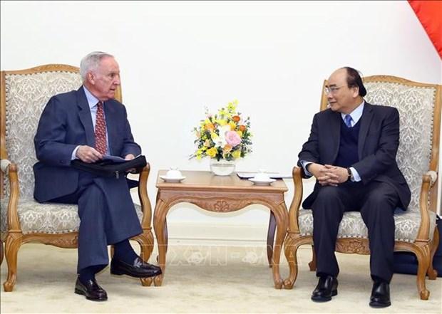 越南政府总理阮春福会见美国前驻越大使 hinh anh 2