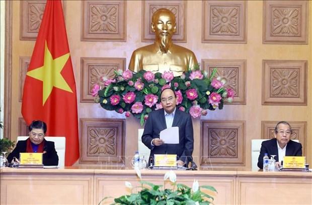 越南政府总理阮春福主持召开经济社会委员会第二次会议 hinh anh 1
