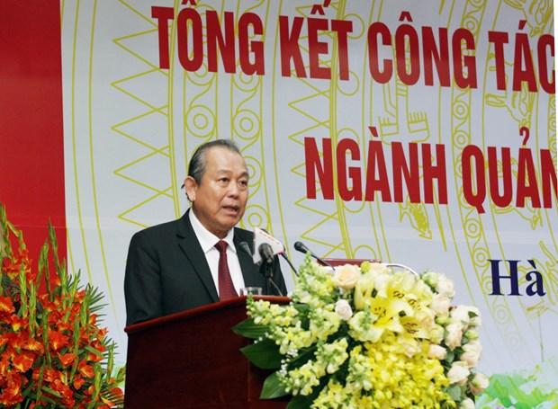 张和平副总理:不许自发而非法的宗教组织组建 hinh anh 2