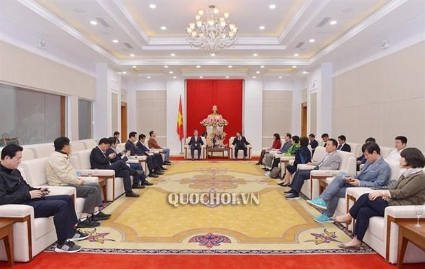 韩越议员友好小组代表团访问广宁省 hinh anh 1