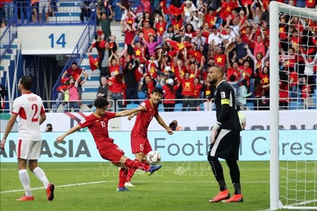 2019年阿联酋亚洲杯:越南队点球大战取胜 时隔12年晋级八强 hinh anh 2