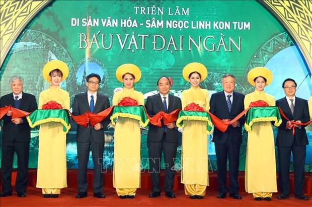 阮春福总理希望玉玲人参为越南药材产业打上深刻的历史烙印 hinh anh 1