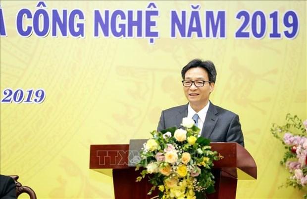 政府副总理武德儋出席2019年科学与技术部部署会议 hinh anh 1