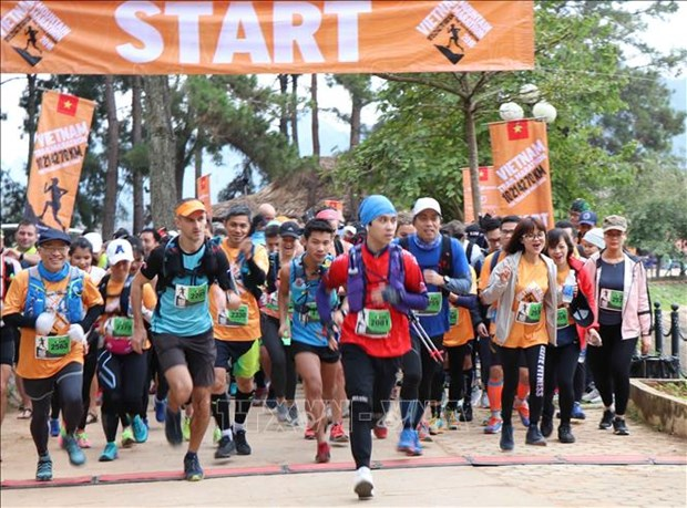 2019年越野马拉松赛圆满结束 多项冠军出炉 hinh anh 1