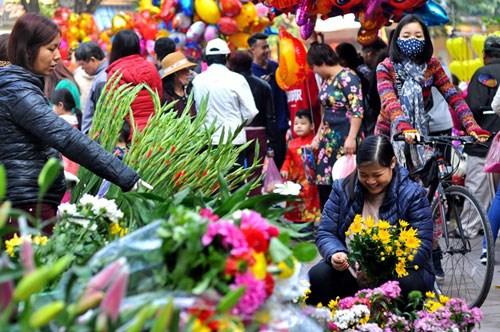 在河内中心感受昔日春节氛围 hinh anh 2