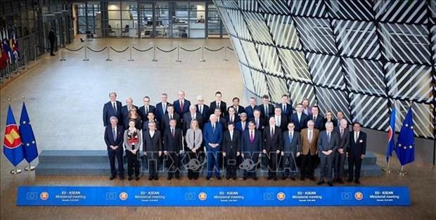 东盟与欧盟承诺加强全面合作 hinh anh 2