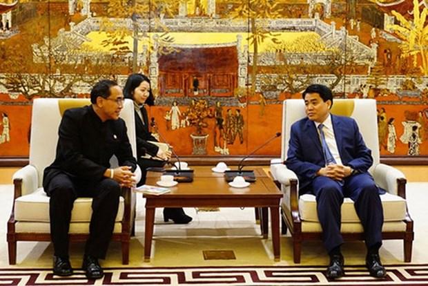 河内希望扩大与泰国在多个领域的合作 hinh anh 1