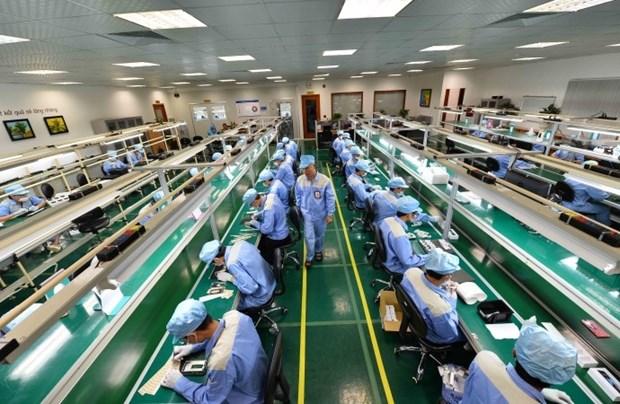 2018年越南工业区和经济区引进外资达83亿美元 hinh anh 1
