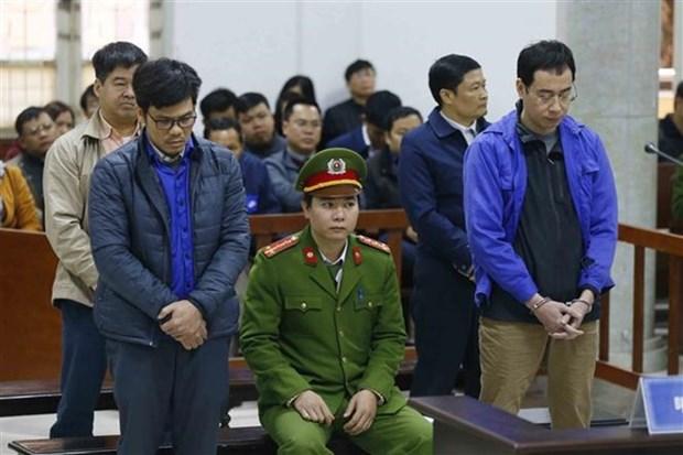 平山石化公司四名原领导滥用职权侵占财产被判处25年监禁 hinh anh 1