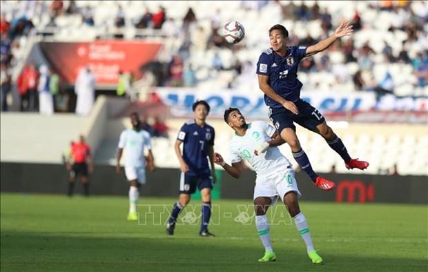 2019年阿联酋亚洲杯:日本队1-0淘汰沙特队,1/4决赛迎战越南队 hinh anh 1