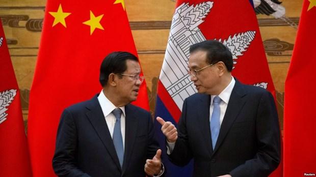 中国与柬埔寨加强合作 hinh anh 1