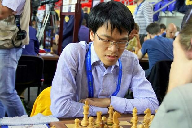 2019年直布罗陀国际象棋公开赛:黎光廉取得开门红 hinh anh 1