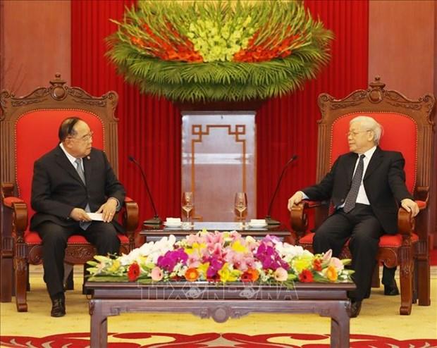 泰国防长希望进一步加强泰越防务合作 hinh anh 1