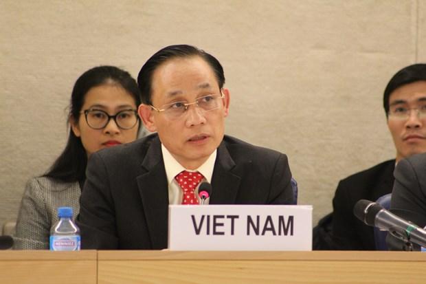 各国高度评价越南保护和促进人权的成果 hinh anh 2