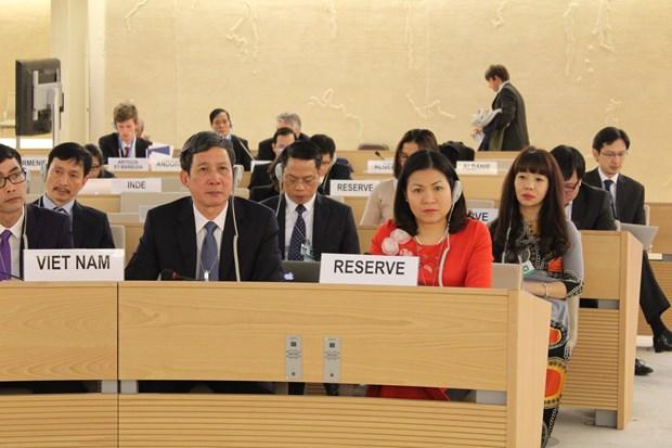 各国高度评价越南保护和促进人权的成果 hinh anh 1