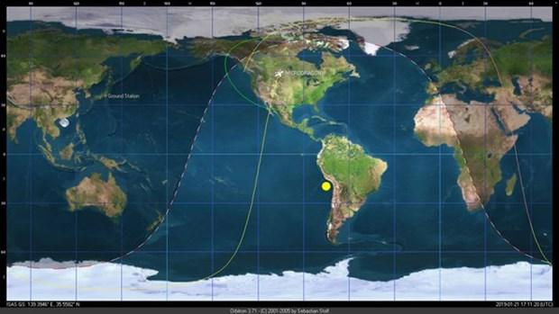 """越南""""微龙"""" 卫星首次传回实验照片 hinh anh 1"""