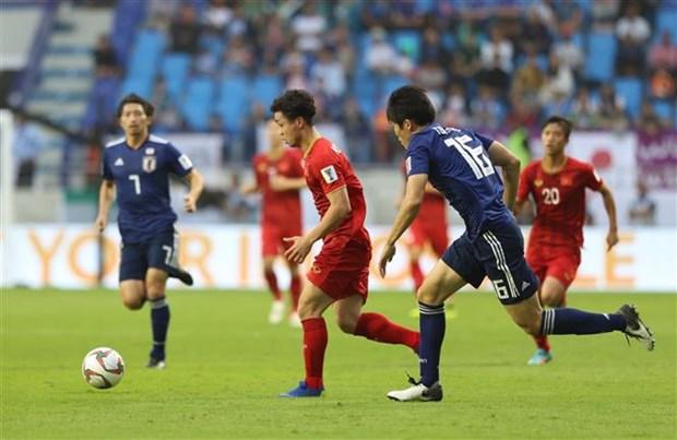 越南队0-1日本队:VAR的点球 hinh anh 1