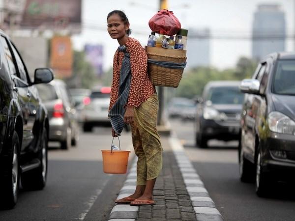 印尼力争将贫困率下降至9%以下 hinh anh 1