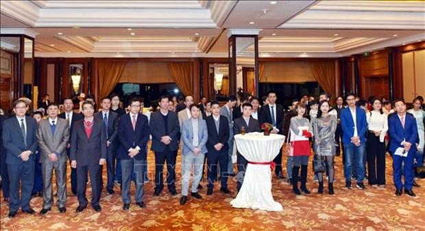 越南驻华大使馆举行迎春活动 hinh anh 2