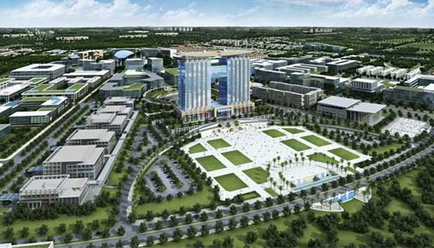 平阳省深化智慧城市建设中的技术合作 hinh anh 1