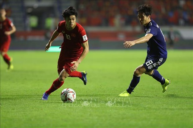 ASIAN CUP 2019:1/8决赛最佳进球属于越南队球员阮功凤 hinh anh 1