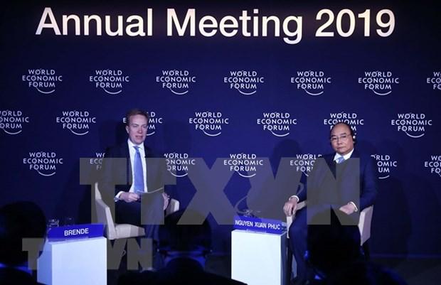 阮春福总理与各国领导人同意加强双边互利合作 hinh anh 1