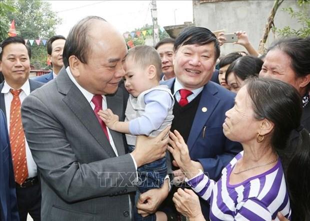 政府总理阮春福:兴安省需推进各工业区和都市区强劲发展 hinh anh 1