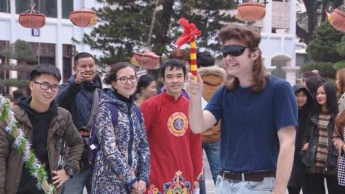 外国留学生喜欢体验越南春节文化习俗 hinh anh 1