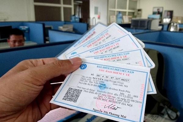 2020年越南全面推进电子医保卡应用 hinh anh 1