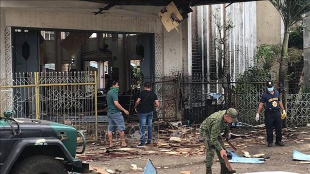菲律宾教堂爆炸事件: IS宣称对该爆炸案负责 hinh anh 1