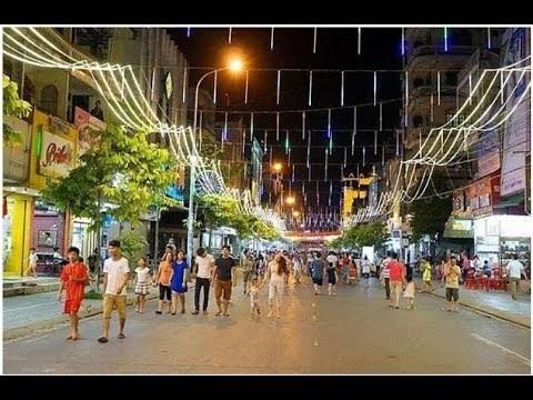 安江省首条步行街将于春节前投入运行 hinh anh 1