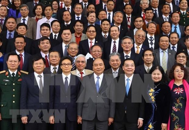政府总理阮春福:党和国家一向重视知识分子和科学家们的地位和作用 hinh anh 1