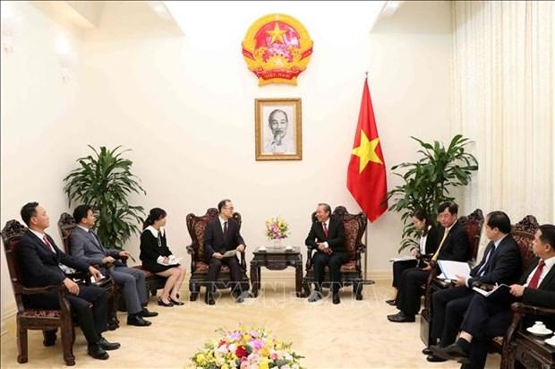 促进越韩战略合作伙伴关系发展 hinh anh 1