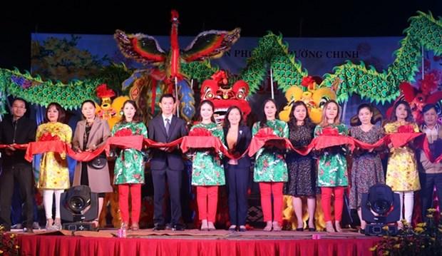 2019年己亥年花卉节在昆嵩省开幕 hinh anh 1
