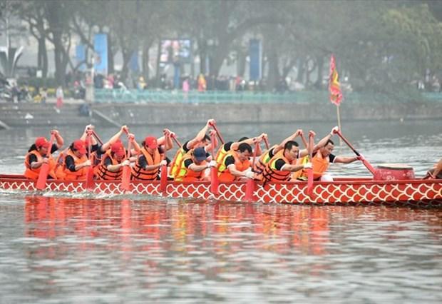 2019年河内市龙舟公开赛将于2月中旬举行 hinh anh 1