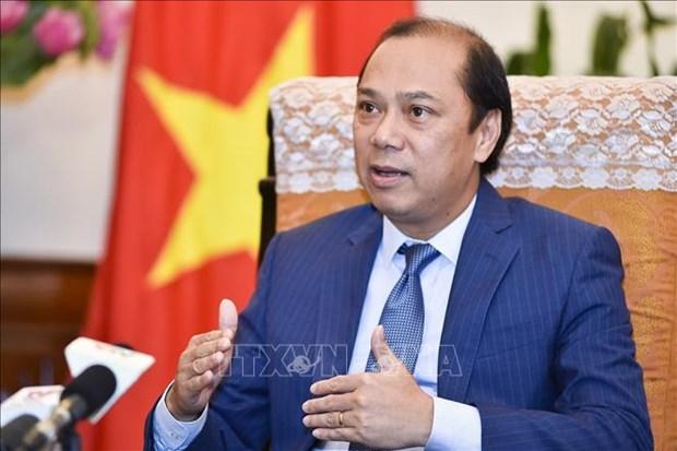 越南政府总理特使、外交部副部长阮国勇访问孟加拉国 hinh anh 1