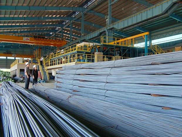 和发集团建筑钢材出口猛增 hinh anh 1