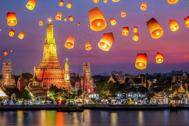 泰国接待游客人数破纪录 hinh anh 1
