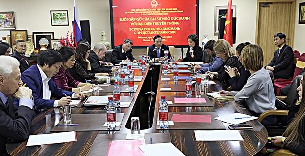 2018年越俄各领域关系均取得积极进展 hinh anh 2