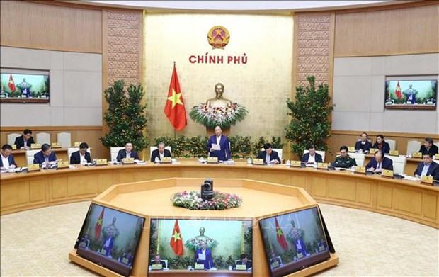 越南政府总理阮春福:2019年1月越南经济社会发展情况继续保持上年良好态势 hinh anh 1