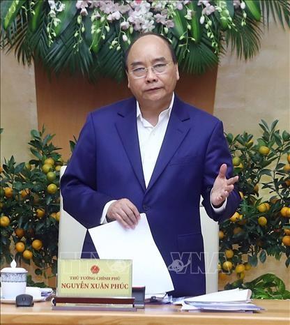 越南政府总理阮春福:2019年1月越南经济社会发展情况继续保持上年良好态势 hinh anh 2