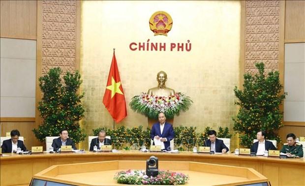 越南政府总理阮春福:让每个人都过个好年 hinh anh 1