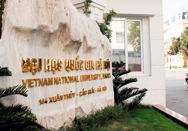 越南河内国家大学在世界大学网络计量学排名中上升216位 hinh anh 1