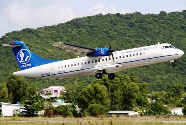 越南航空服务公司开通乂安省荣市至岘港市航线 hinh anh 1