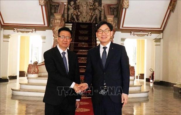 韩国农协银行即将在胡志明市设立分行 hinh anh 1