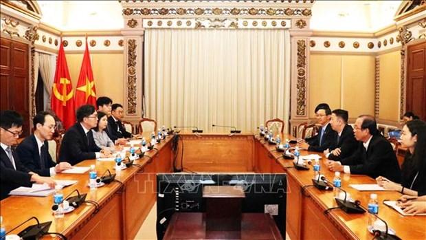 韩国农协银行即将在胡志明市设立分行 hinh anh 2