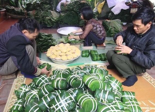 过年包粽子——越南民族的传统文化 hinh anh 1
