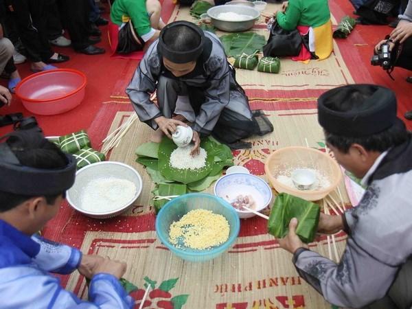 过年包粽子——越南民族的传统文化 hinh anh 2