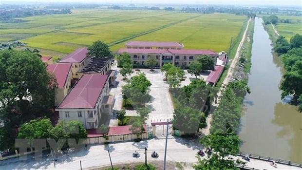 2019年越南全国努力增加70个达到新农村建设标准的县 hinh anh 1